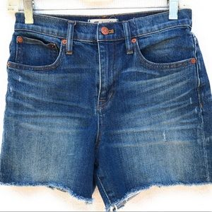 Madewell Shorts - Madewell High-Rise Denim Shorts